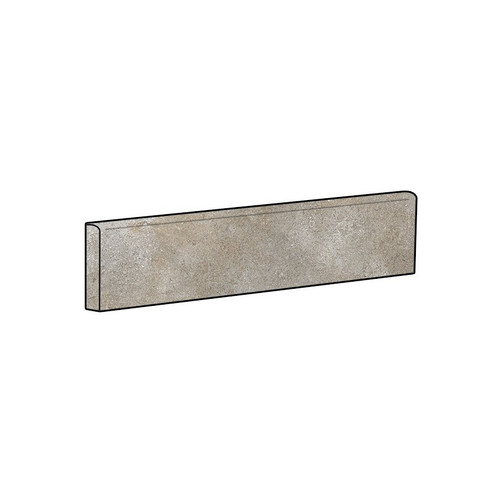 Brooklyn Cemento Greige Honed Bullnose 4x24 (IRG424BT184)