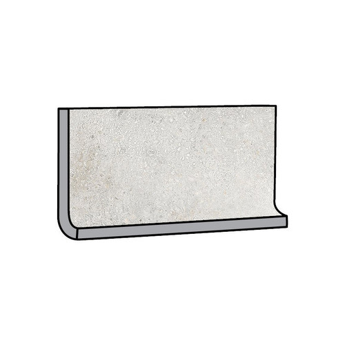 Brooklyn Cemento Argent Honed Cove Base 6x12 (IRG612C182)