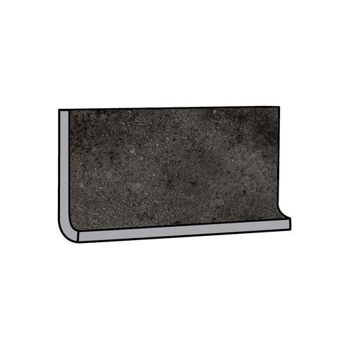 Brooklyn Cemento Black Honed Cove Base 6x12 (IRG612C183)
