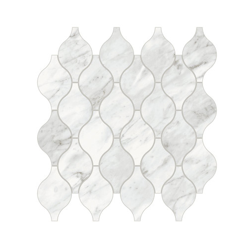 Trilogy Carrara Classic Matte Arabesque Mosaic (MABCCARBSQ)