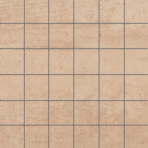 Theoretical Ideal Beige Ceramic Mosaic 2x2 (TH9122MS1P2)