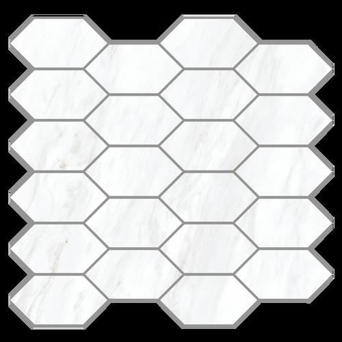 Carrara Extra Moderne Diamond Blend Mosaic 2x4 (21.M.330.5342)