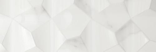 Marble Plus Statuario White Glossy DŽcor Wall 12x36 (188211)
