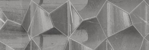 Marble Plus Fumo di Londra Grey Glossy DŽcor Wall 12x36 (188214)