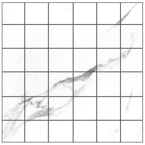 Statuario Extra Moderne Polished Mosaic 2x2 (21.M.330.5309)