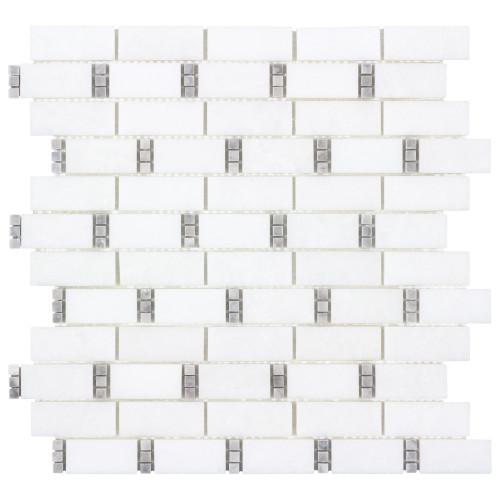The Finish Line Manor Gray Dominos Mosaic (ANTHFLGD)