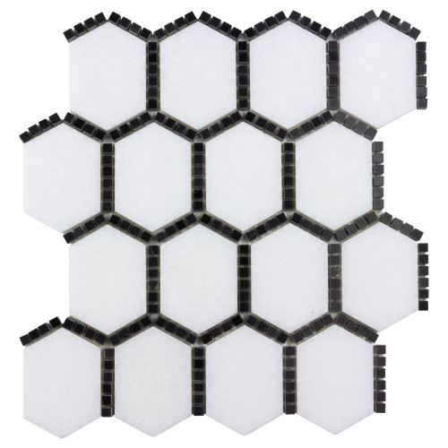 The Finish Line Sable Black Jeweled Hex Mosaic (ANTHFLJS)