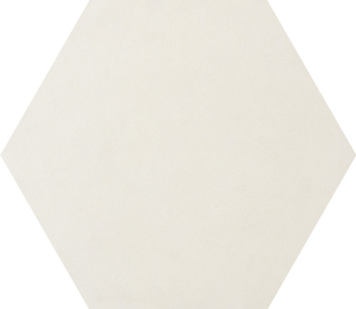 Bee Hive White Solid Porcelain Hexagon 24x20 (P0062420HEX1P)