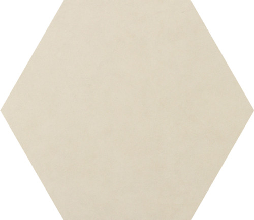 Bee Hive Ivory Solid Porcelain Hexagon 24x20 (P0072420HEX1P)