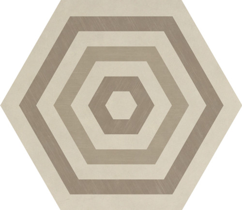 Bee Hive Warm Blend Target Porcelain Hexagon 24x20 (P0152420HXDCO1P)