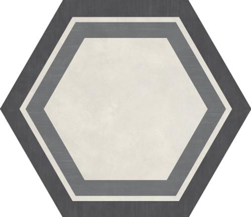 Bee Hive Cool Blend Honeycomb Porcelain Hexagon 24x20 (P0162420HXDCO1P)