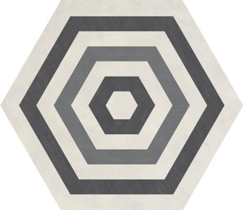 Bee Hive Cool Blend Target Porcelain Hexagon 24x20 (P0192420HXDCO1P)