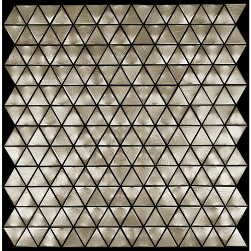 Metal Elements Gold Triangle Mosaic (AMTRI-02)