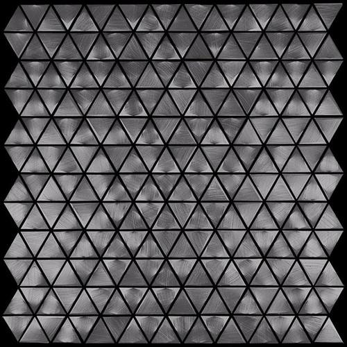 Metal Elements Grey Triangle Mosaic (AMTRI-06)