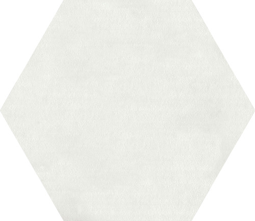 Bee Hive Medley White Porcelain Hex 8.5x10 (P0068510HEX1P)