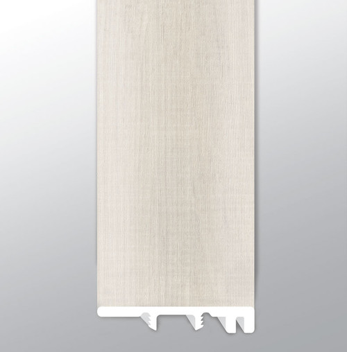 """Andover Whitby White Low Gloss 94"""" End Cap (VTTWHIWHI-EC)"""