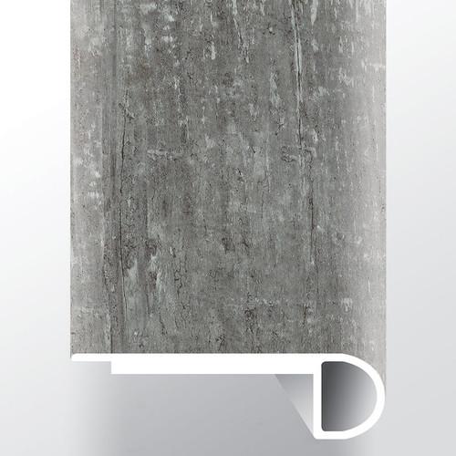 """Andover Kingsdown Gray Low Gloss 94"""" Flush Stairnose (VTTKINGRA-FSN)"""