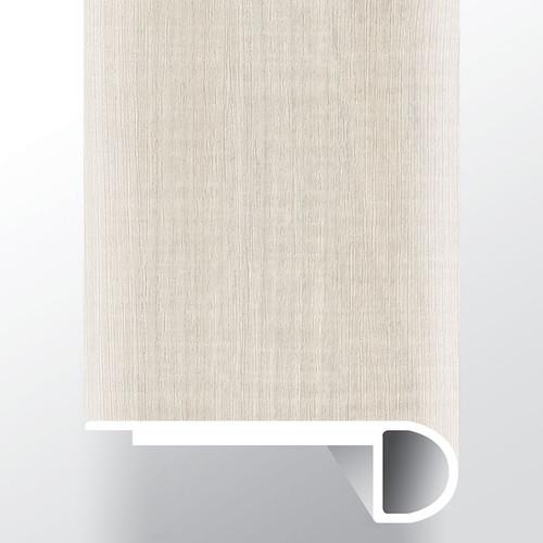 """Andover Whitby White Low Gloss 94"""" Flush Stairnose (VTTWHIWHI-FSN)"""