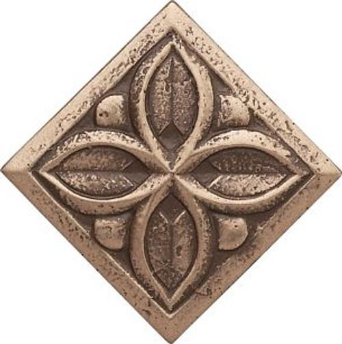 Dorset Antique Bronze Clover Dot 2x2