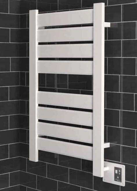 Vega V2338 White Heated Towel Rack 26.25 x 39.125 (V2338W)