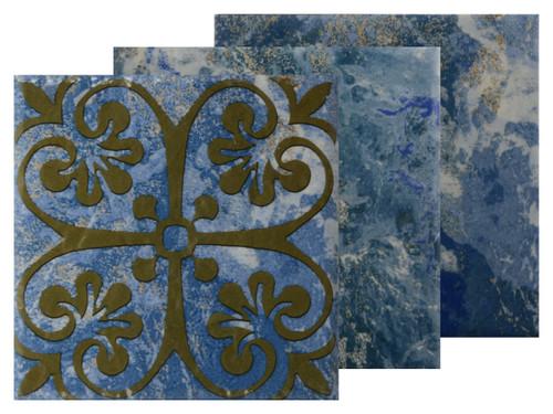Abyss Tikal Porcelain Deco 6x6 (AY-624 DECO)