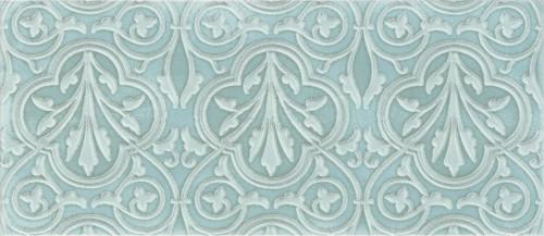 Maiolica Chantilly Venetian Aqua Deco 4x10 (CHAW628-VNT)