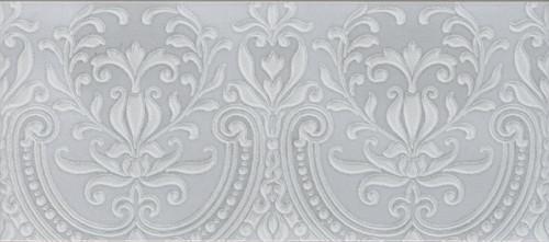 Maiolica Chantilly Alencon Tender Grey Deco 4x10 (CHAW761-ALN)