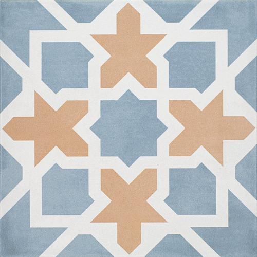 Maiolica Pattern Coto Matte 8x8 Floor Tile (MAIDF295-88)