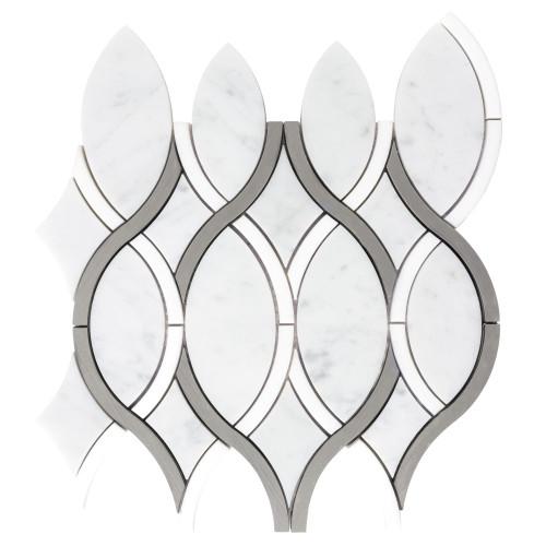 Panache Grand Ribbons Mosaic 10x11 Sheet (ANTHPAGR)