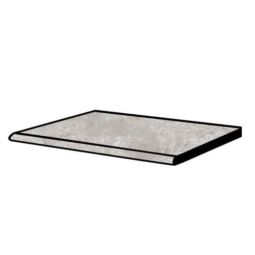 Tivoli Stone Silver Crosscut Grip Step 12x24 (2 PCS) (S8TI05G)