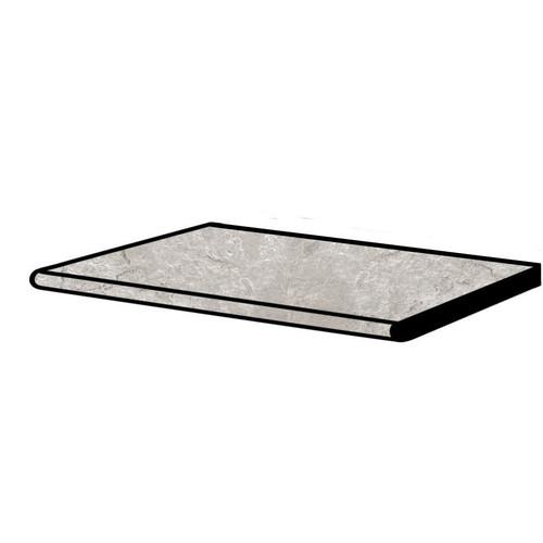 Tivoli Stone Silver Crosscut Grip Pool Coping 12x24 (2 PCS) (S8TI05C)