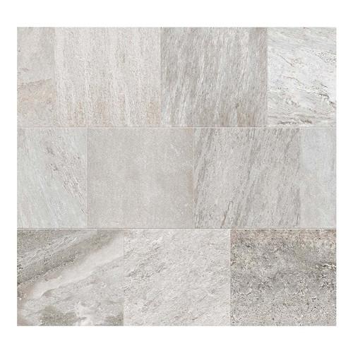 Quartz White Grip 2CM Paver 24x24 (1101426)