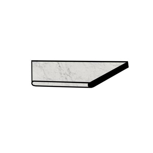 Frontier20 Michelangelo Extra White Grip Bullnose Left Corner Coping 12x24 (2 PCS) (610130004394)