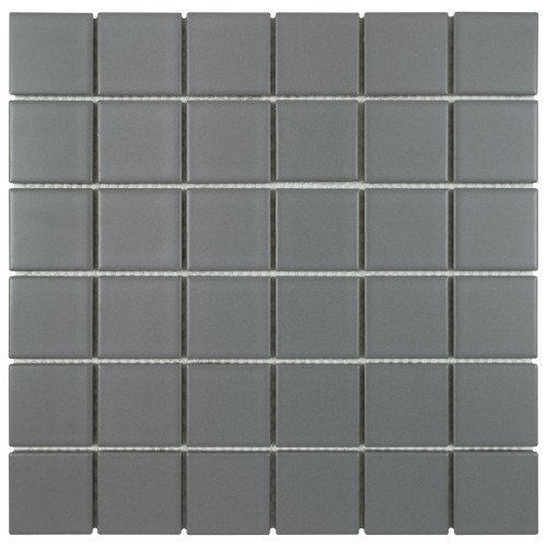 Porcelart Grey Matte Mosaic 2x2 (SF200075