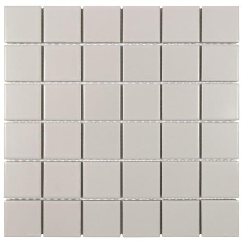 Porcelart Taupe Matte Mosaic 2x2 (SF210003)