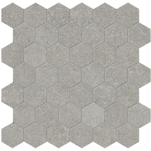 Mjork Clay Matte Porcelain 2 in. Hex Mosaic (4501-0381-0)