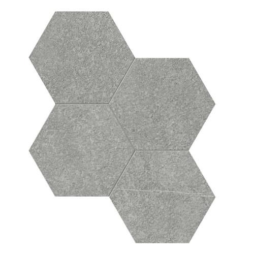 Mjork Mica Matte Porcelain 6 in. Hex Mosaic (4501-0376-0)