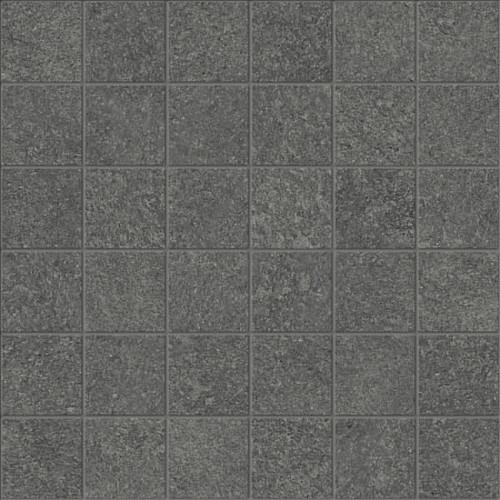 Mjork Carbon Matte Porcelain Mosaic 2x2 (4501-0386-0)