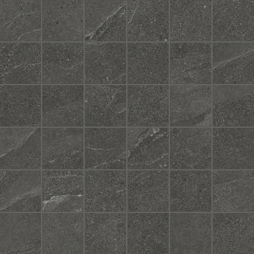 Nord Carbon Matte Porcelain Mosaic 2x2 (4501-0398-0)