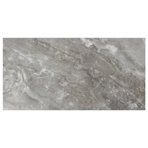 Marbles Oniciata Grey Polished Porcelain 12x24 (1102345)