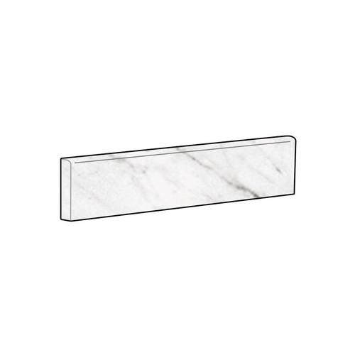 Marbles Carrara White Polished Bullnose 3x12 (1102353)