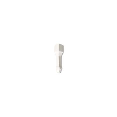 Hampton White Crown Molding End Cap (ADXADHWH227)