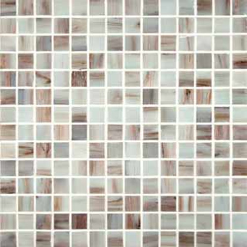 Ivory Iridescent 3/4X3/4 (12X12 Sheet)