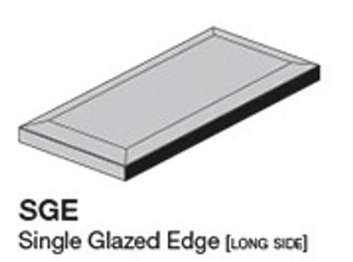 """Studio Silver Sands 5.8"""" Glazed Edge 2.8X5.8 (ADXADSTS805)"""