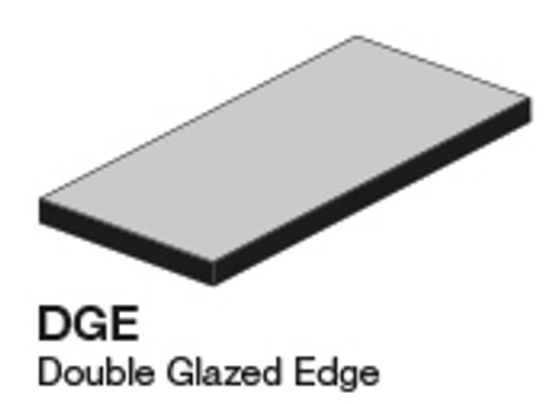 Studio Graystone Left Glazed Edge Outcorner 2.8X5.8 (ADXADSTG808)