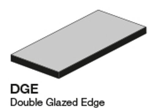 Studio Snow Cap Left Glazed Edge Outcorner 2.8X5.8 (ADXADSTW808)