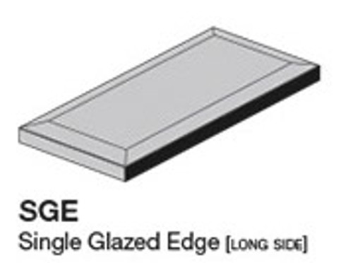 """Studio Silver Sands 7.8"""" Glazed Edge 3.8X7.8 (ADXADSTS811)"""