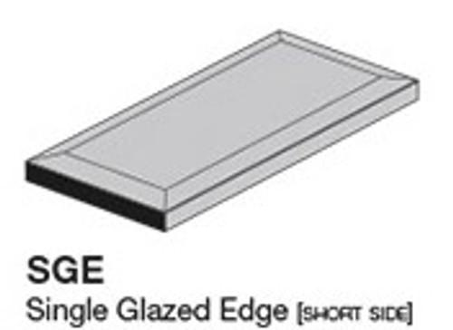 """Studio Snow Cap 3.8"""" Glazed Edge 3.8X7.8 (ADXADSTW810)"""