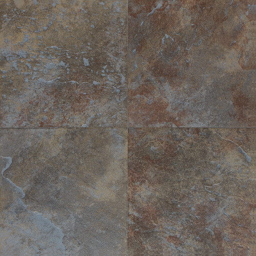 Continental Slate - Tuscan Blue 18x18