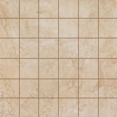 Stonefire Almond 2x2 Mosaic